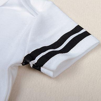 Iration Baby Jersey Bodysuits Unisex Short Sleeve Sport Jersey 0-24 Months