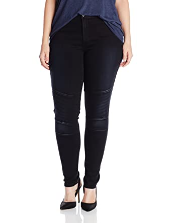 a85d9b69dee61 Amazon.com  James Jeans Women s Plus-Size Moto Z Jean  Clothing