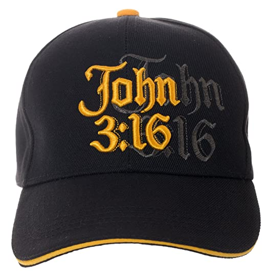 10bd38cb Amazon.com: John 3:16 Hat Religious Bible Christian Gift - 100 ...