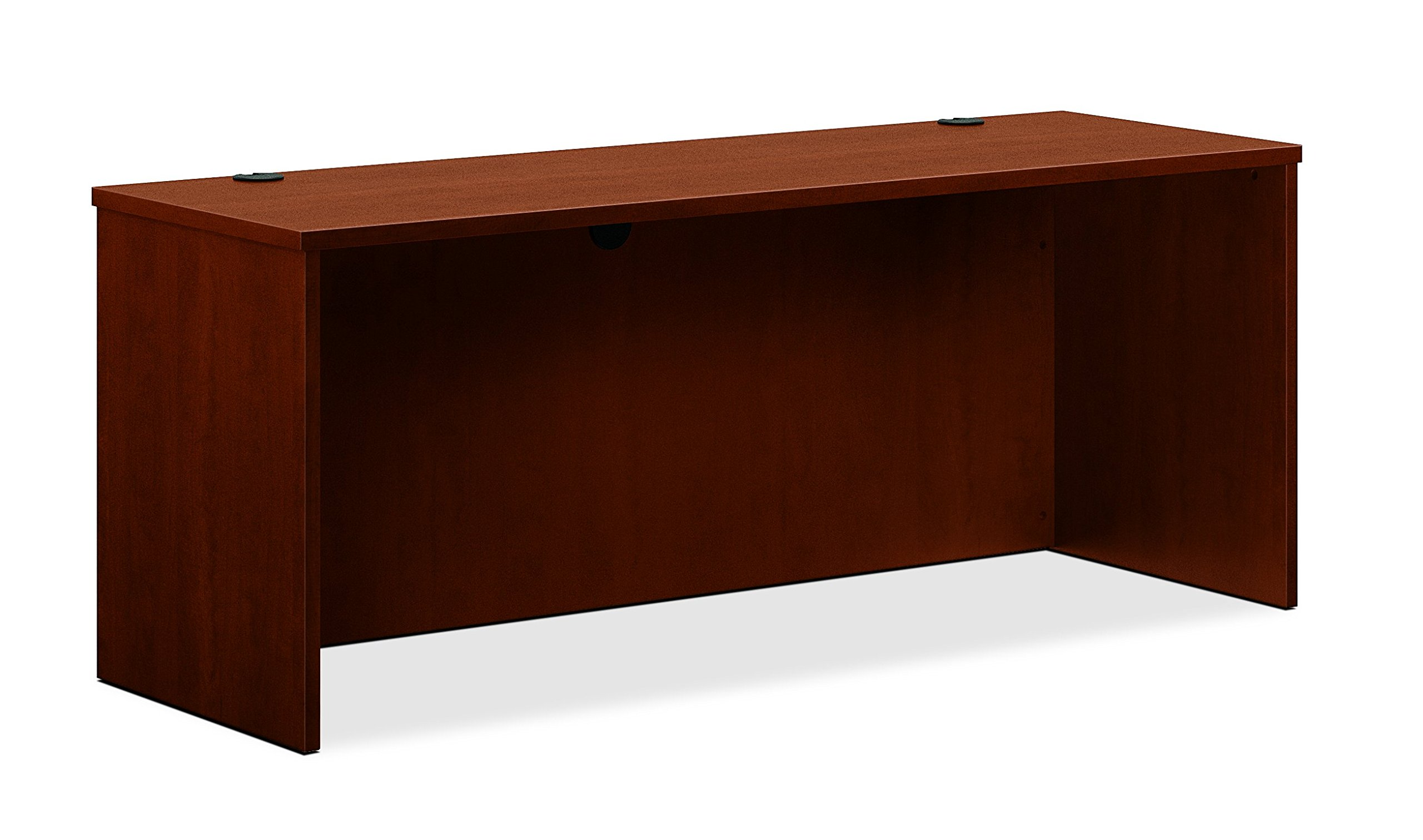 basyx by HON BL Laminate Series Credenza Shell - Desk Shell for Office,  72w x 24d x 29h, Medium Cherry (HBL2121)