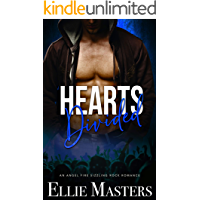 Hearts Divided: a Sizzling Rock Star Romance (Angel Fire Rock Romance Book 4) book cover