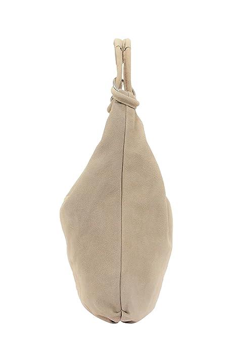 ef7c73ce23 AMBRA Moda Women s real suede Handbag