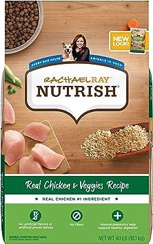 Rachael Ray Nutrish Super Premium Dry Dog Food Chicken and Veggies Recipe | Chewy