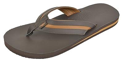 30ba210c2c8 Dockers Men s Jesse Comfort Two-Tone Flip Flop Sandal (Small 7-8