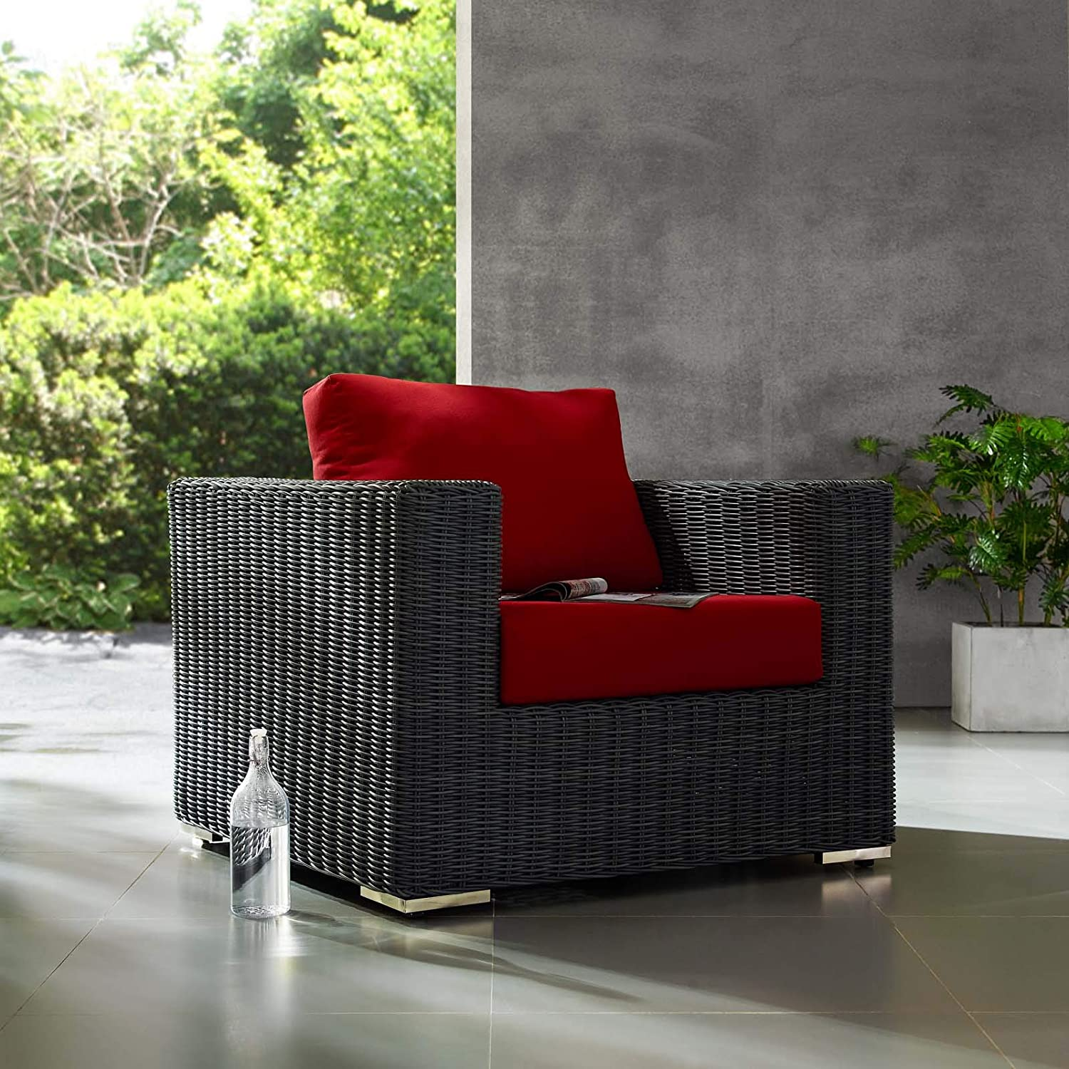 Amazon.com: Sillón moderno y contemporáneo para patio ...