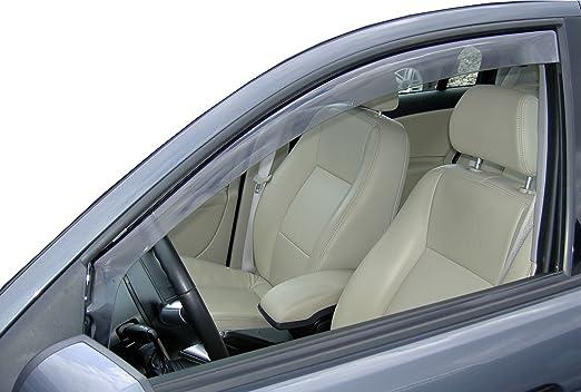 2017- KLARES Material Van f/ür die Fahrer und Beifahrerseite-CLK0033969K passend f/ür Renault Grand Scenic TYP RFA 1 Set Vordere Windabweiser 5-Door