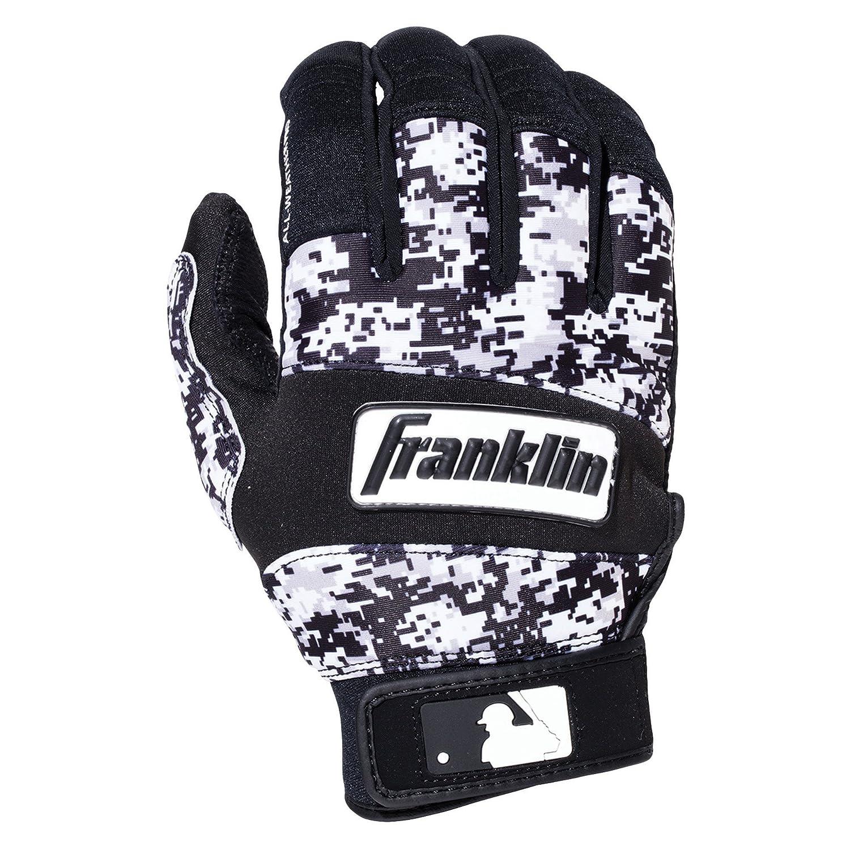 Franklin Sports MLB コールドウェザープロ バッティンググローブ B00N4M4BAQ XL|Black/White Digital Camo Black/White Digital Camo XL
