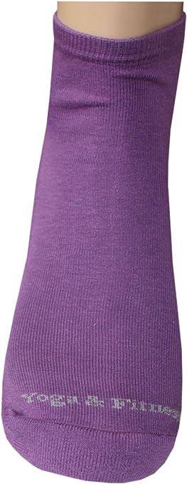 Grigio melange Weri Spezials Calzini ABS per lo Yoga e Fitness con suola Antiscivolo Colore