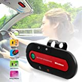 iMounTEK Bluetooth Hands Free Speaker Kit With Visor Clip & Car Charger