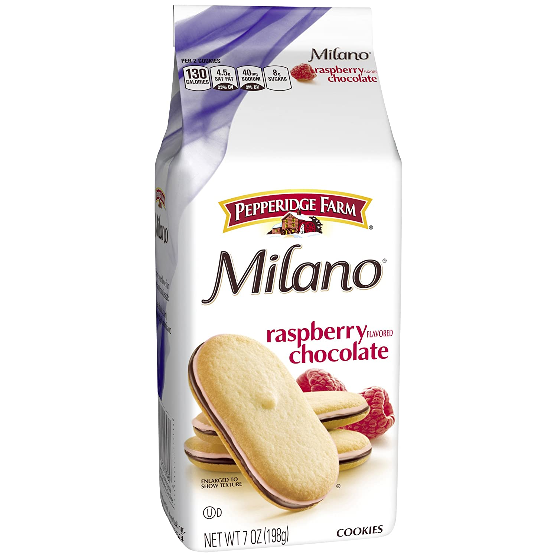 Pepperidge Farm, Milano, Cookies, Raspberry, 7 oz., Bag, 24-count
