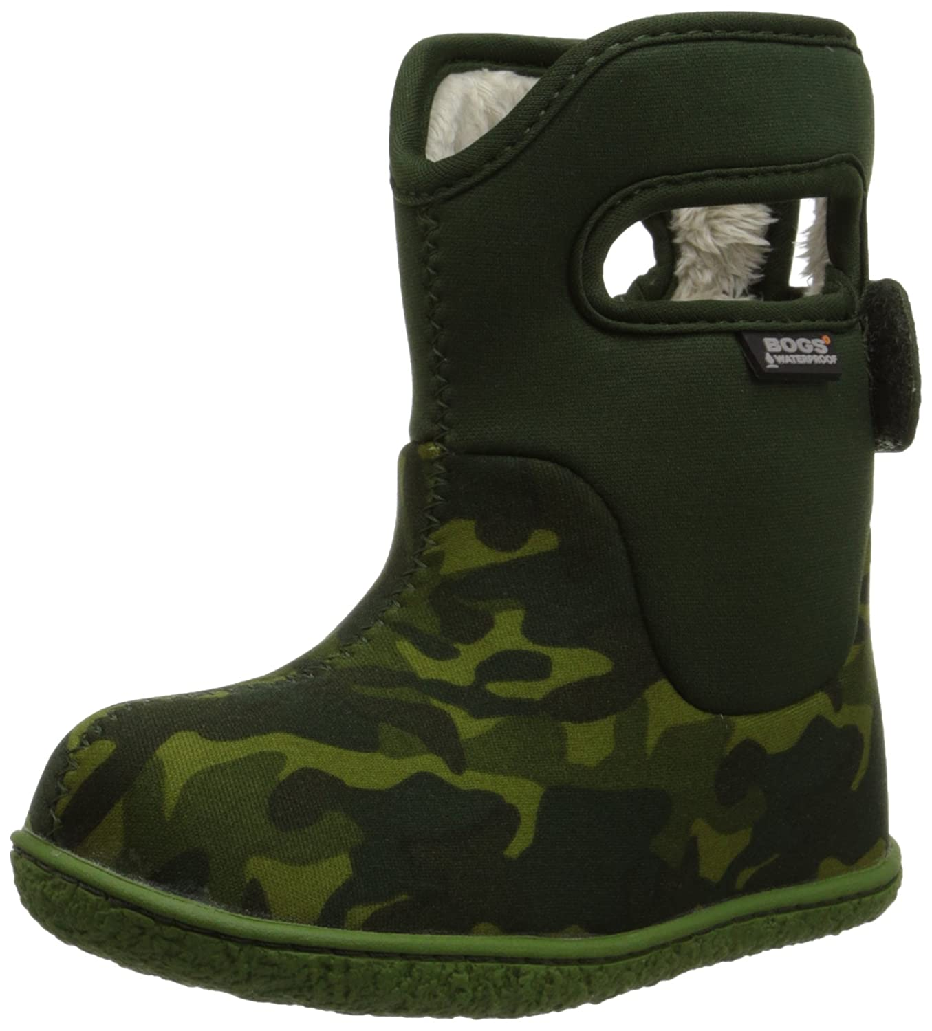 Amazon.com | Bogs Baby Classic Camo Waterproof Insulated Rain Boot  (Infant/Toddler/Little Kid/Big Kid), Green/Multi, 4 M US Toddler | Snow  Boots