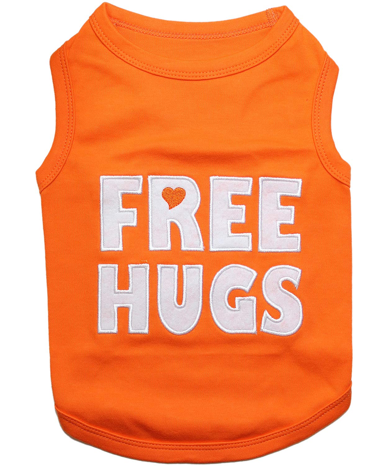 L Parisian Pet Free Hugs Dog T-Shirt, L