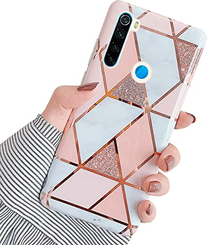 ivencase 9 × Custodia Xiaomi Redmi Note 8 Cover Silicone Sottile Morbido TPU Pr