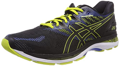 Asics Men's Gel-Nimbus 20 Competition Running Shoes, Black (Black/Sulphur  Spring