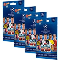 Topps UEFA Champions League Trading Card Game 2019/20 Edition (Multi Pack (Pack of 4))
