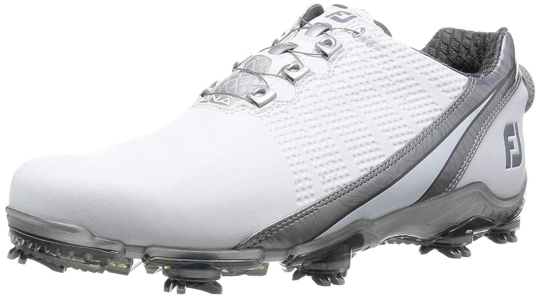 [フットジョイ] ゴルフシューズ メンズ 53301J 27.5 cm Wide ホワイト/シルバー B016NQRZH0