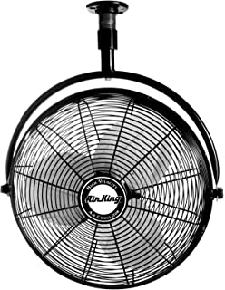 Amazon air king 9718 18 inch industrial grade ceiling mount fan air king 9320 20 inch 16 horsepower industrial grade ceiling mount fan aloadofball Choice Image