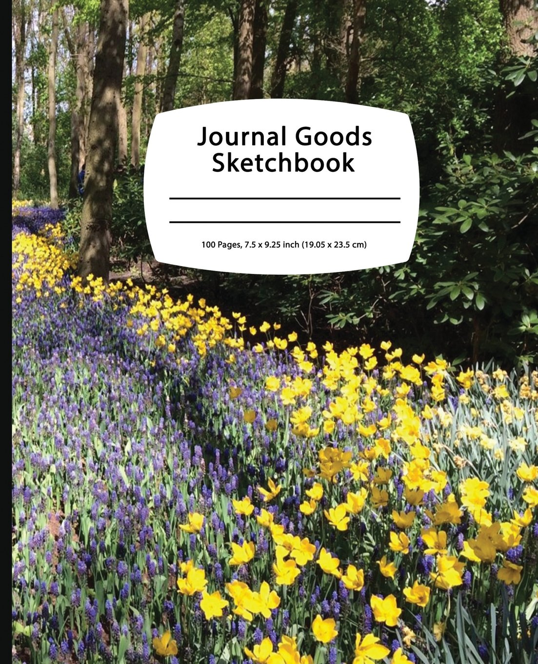 Download Journal Goods Sketchbook - Flower Road: 7.5 x 9.25, Large Sketchbook Journal Drawing Book, 100 Pages For Sketching, Bullet Journal, Notes and More (Durable Cover) ebook