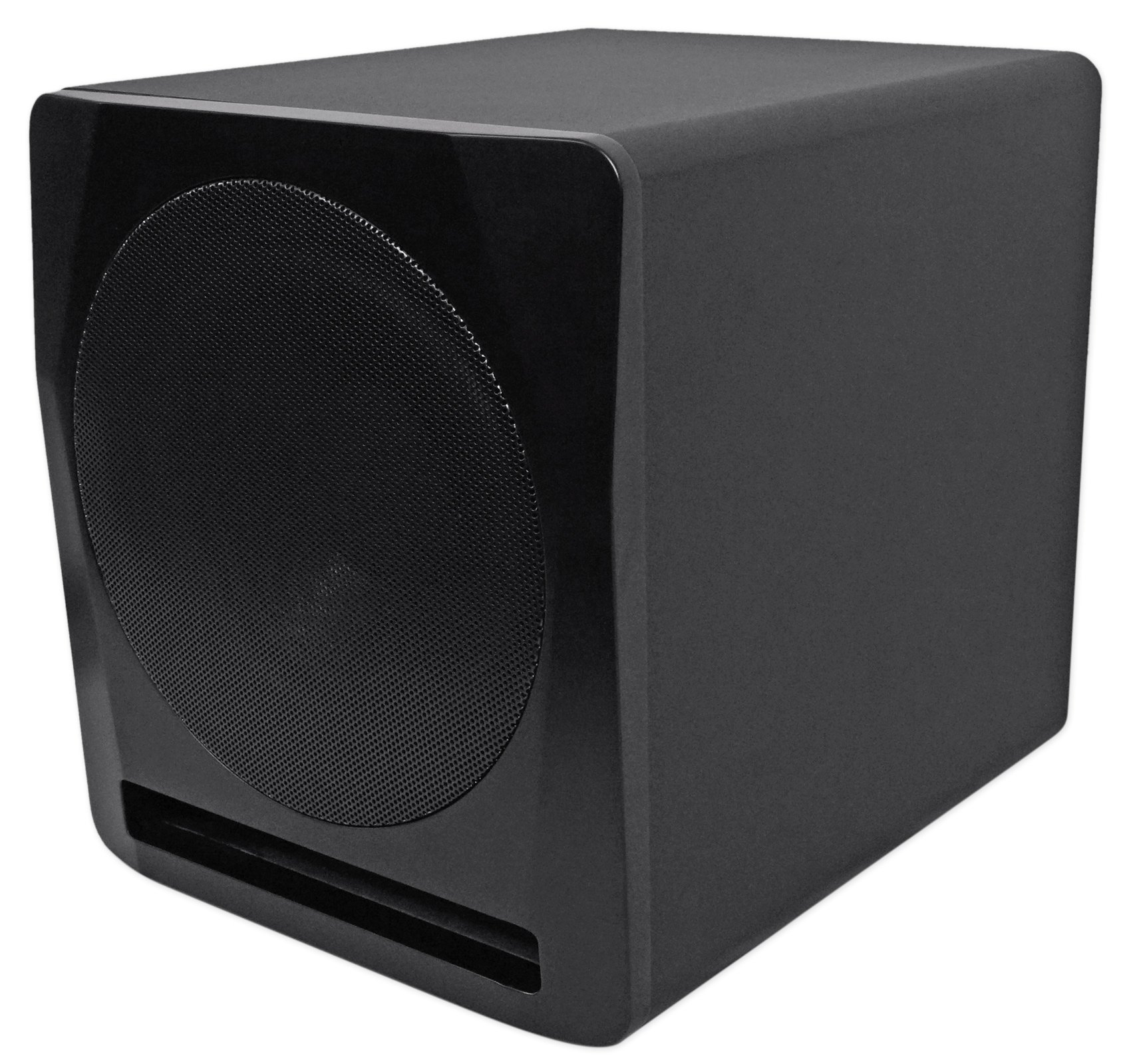 Rockville Apm10b 10'' 400W Powered/Active Studio Subwoofer Pro Reference Sub