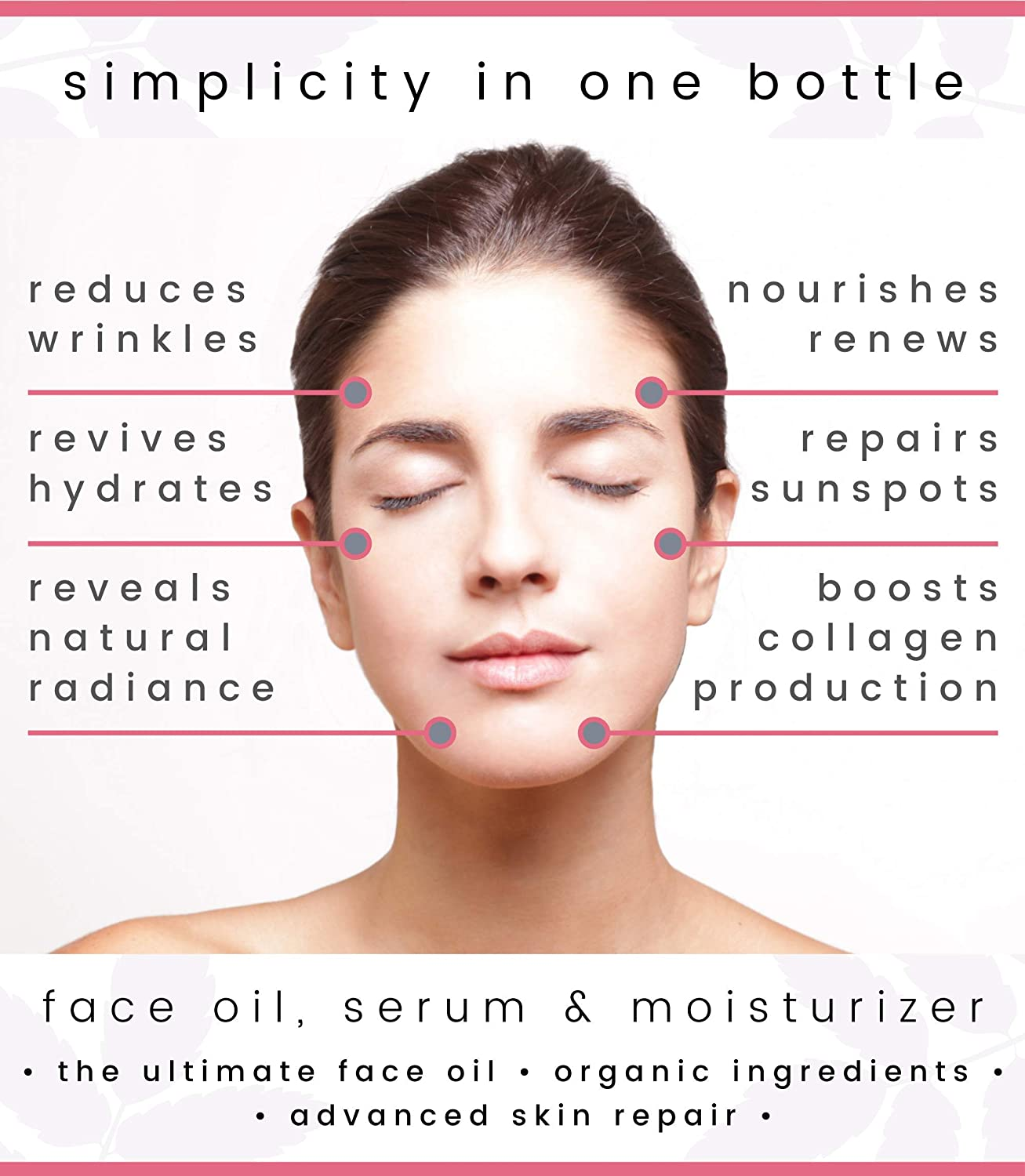 SOCO Botanicals Face Oil Serum - Anti Aging Organic Elixir for Face and  Eyes with Sea Buckthorn,