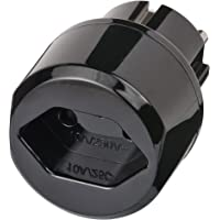Brennenstuhl Reisstekker/reisadapter (reisstekkeradapter voor: Euro-stopcontact en Zwitserland-stekker) zwart