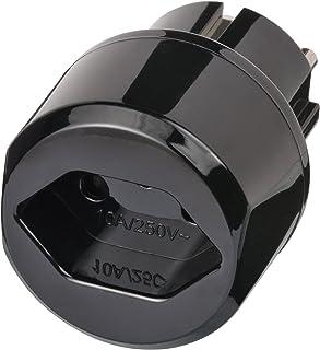 Set: BRENNENSTUHL CH adattatore universale da viaggio–Protezione contatto (10A, 250V)