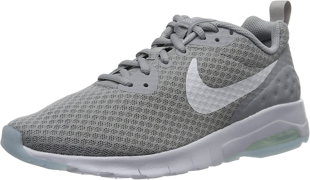 0db31775c3bf Nike Men s Air Max Motion Low Cross Trainer Wolf Grey White 6.0 Regular US