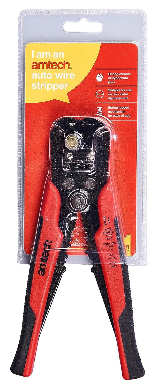 Amtech B4285 Automatic Wire Stripper with Crimper