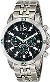 August Steiner Men's Mercury Chronograph Bracelet Watch