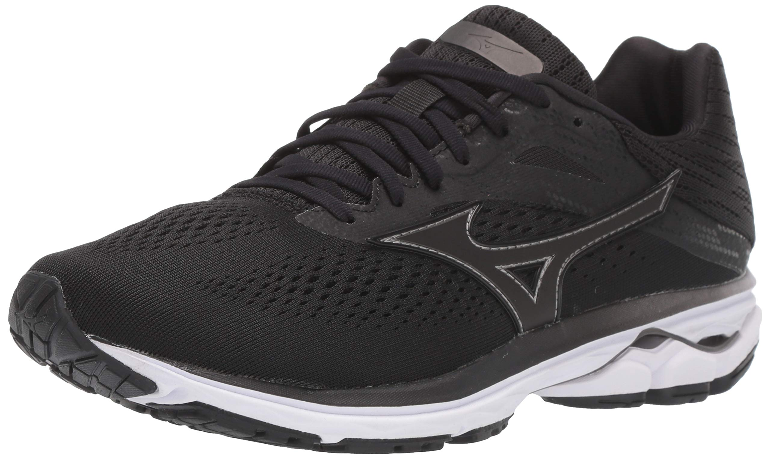 Mizuno Men's Wave Rider 23 Running Shoe, dark shadow, 15 2E US by Mizuno