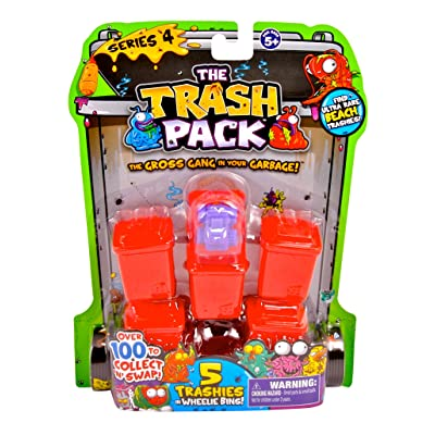 Trash Pack Series #4, 5-Pack: Toys & Games