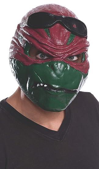 dffaeeebc0c Rubie's Costume Men's Teenage Mutant Ninja Turtles Movie Raphael Adult 3/4  Mask