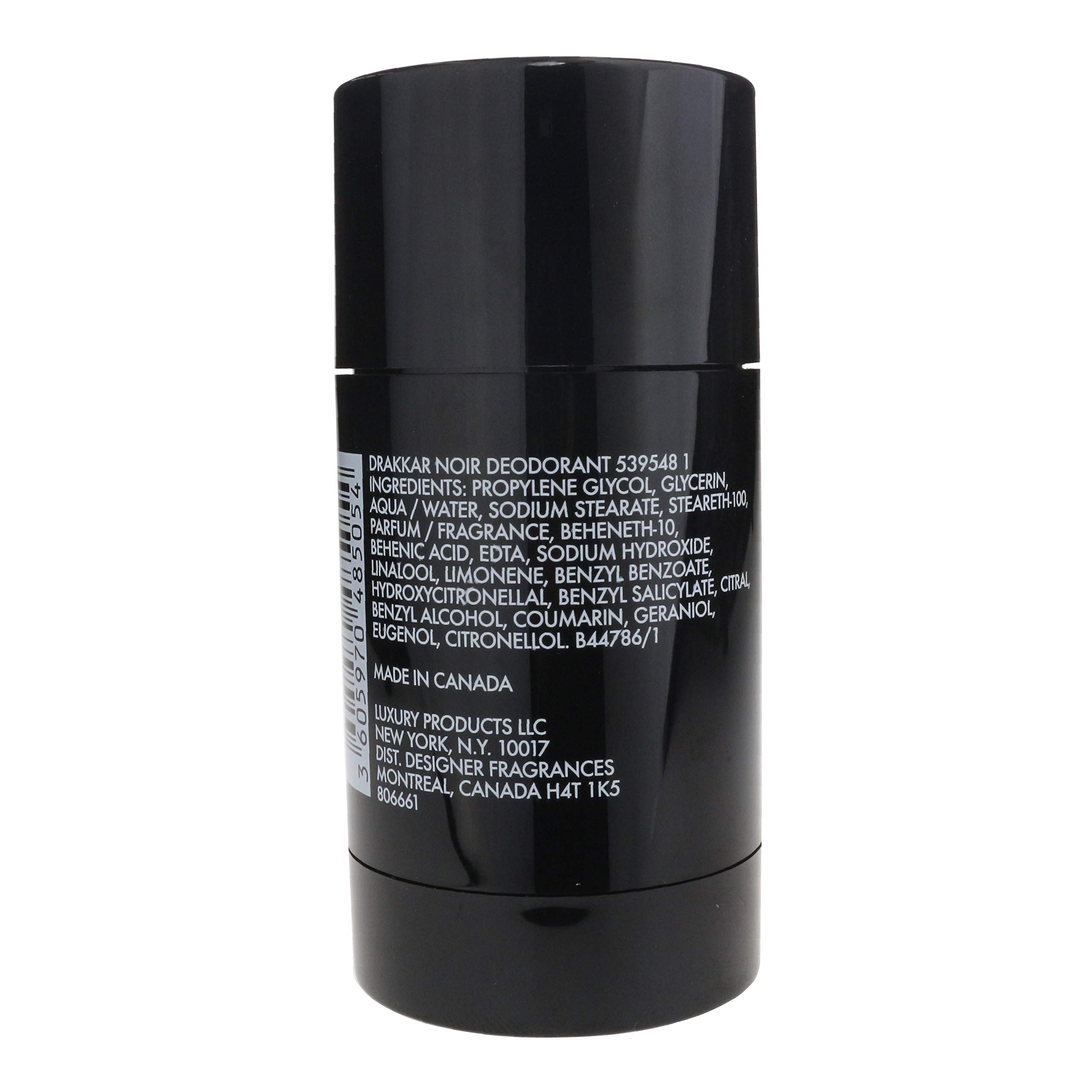 Guy Laroche Drakkar Noir Deodorant Body Spray 60 Fl Oz Designer