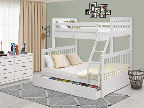 East West Furniture ODB-05-WA Kids Bunk Bed Bedroom Set