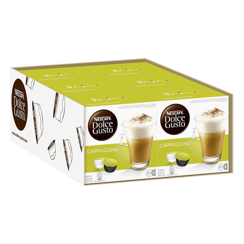 Nescafé Dolce Gusto Cappuccino, Café con leche, Café, Cápsulas de ...