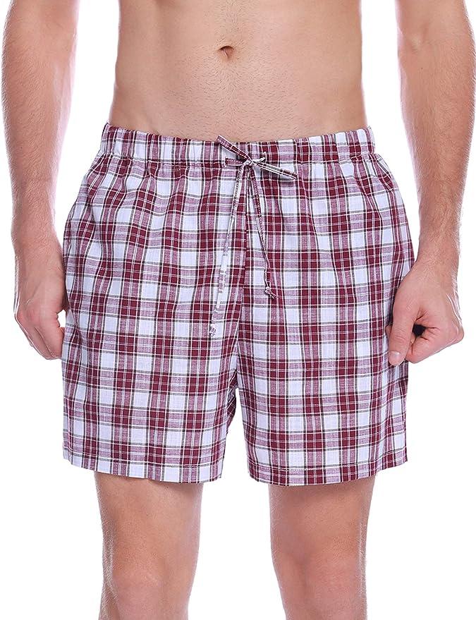 20 opinioni per Hawiton Uomo Pigiama Pantaloni Corti in Cotone, Uomo Pantaloni Sportivi per