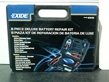 Exide 8 Piece Deluxe Battery Repair Kit #BCKIT05