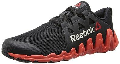 Running Shoe, Black/China Red/White, 8