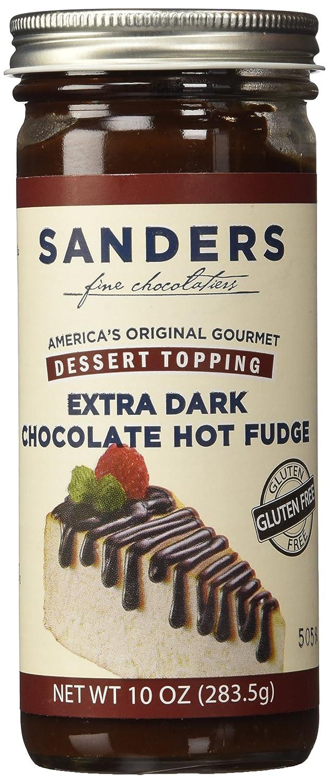 Amazon.com : Sanders of Detroit Bittersweet Hot Fudge Dessert ...