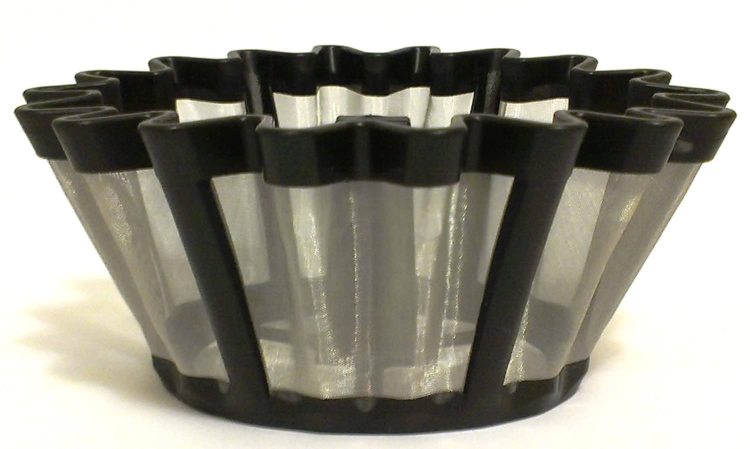 Universal Gold Tone Coffee Filter- The #1 Permanent Coffee Filter. (6-12 cup) EZ World distribution #106