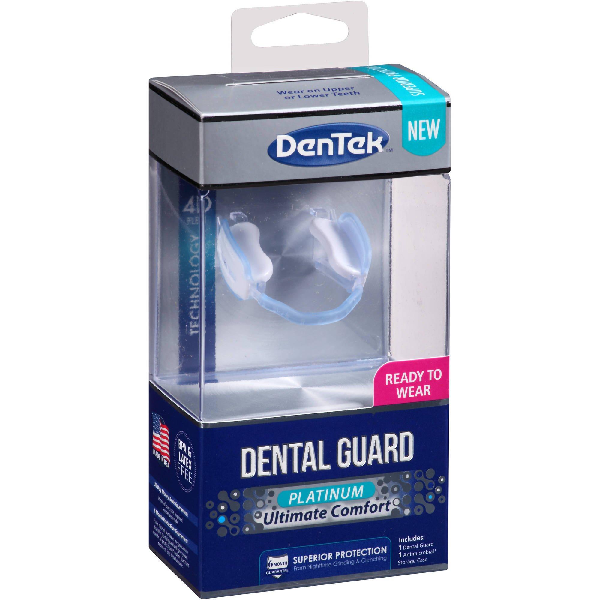 DenTex - Dental Guard, Platinum Ultimate Comfort - ( 2 PACK ) GREAT VALUE!