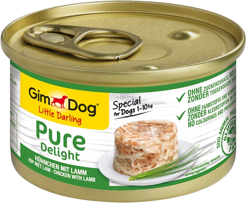 GimDog Pure Delight Pollo & Cordero 85 gr