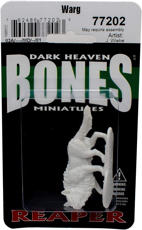 RPR77202 Bones Warg Miniature Reaper by Reaper