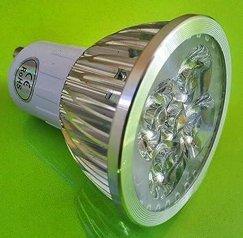 Bombilla LED 12W de Alta Potencia, 220V, 120º, Regulable, GU10, Luz Blanco Cálido, 900-1000 lm (Misma luz de Halógeno 50W): Amazon.es: Coche y moto