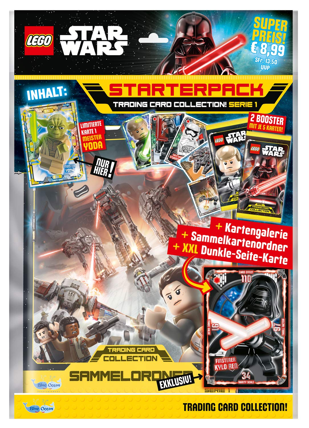Amazon.com: Top Media 180231 Lego Star Wars Trading Cards ...