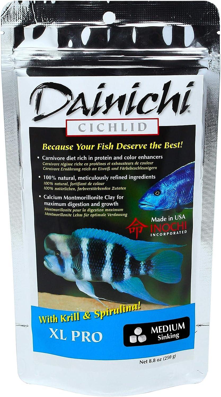 Dainichi Cichlid Food - XL PRO (8.8 oz), Medium (5 mm) Sinking Pellet