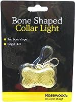 Rosewood Bone Shaped Pet Collar Light