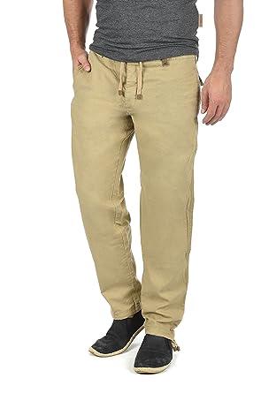 INDICODE Ives Herren Leinen-Hose lange Hose bequeme Stoffhose aus  hochwertiger Leinenmischung  Amazon.de  Bekleidung cce4e7e227