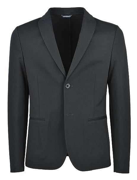 DANIELE ALESSANDRINI D.A...... - Uomo Giacca Blazer Nero G2693N7993705  1-25137  Amazon.it  Abbigliamento 4b778b362e8