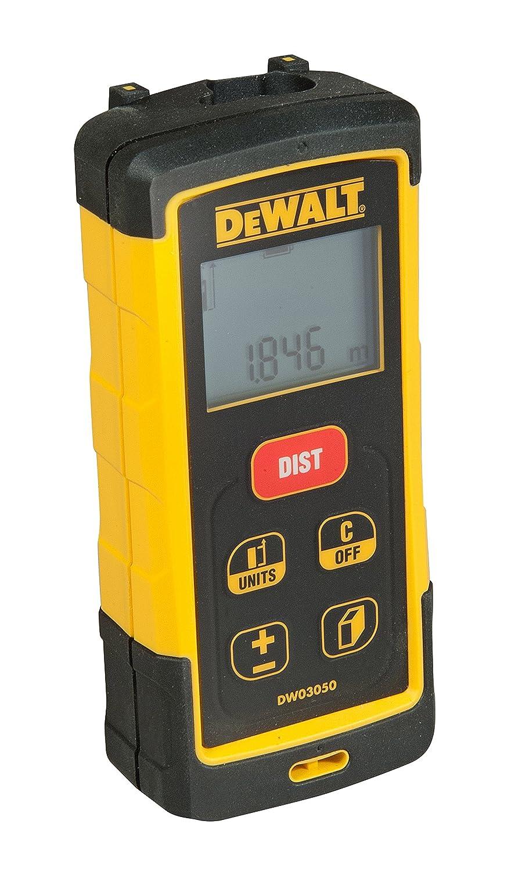 DEWALT DW033-XJ Medidor lá ser de distancias con Alcance de 30m